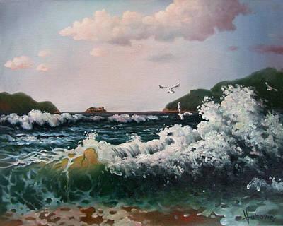 Montenegro Painting - Mamula Island - Montenegro by Dusan Vukovic