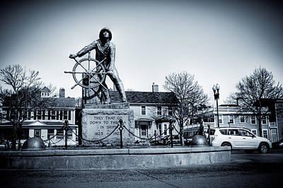 Morrissey Photograph - Man At The Wheel by David Hahn