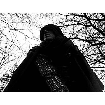 Instago Photograph - #man #movie #cape #sci-fi #tree by Torbjorn Schei