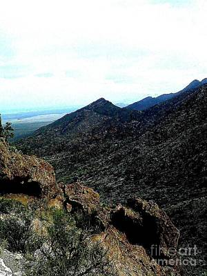 Photograph - Man On A Mountain by J Von Ryan