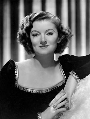 Man-proof, Myrna Loy, Mgm Portrait Art Print by Everett