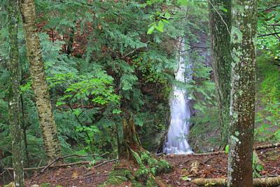 Photograph - Manakiki Falls by Matthew Winn