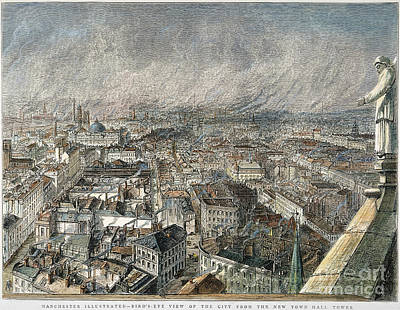 Manchester, England, 1876 Art Print