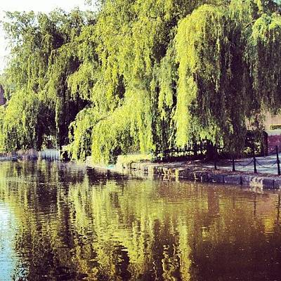 River Photograph - #manchestercanal #canal #river by Abdelrahman Alawwad
