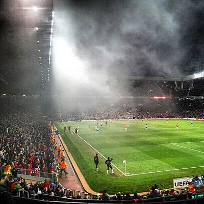 Football Wall Art - Photograph - #manchesterutd #manchesterunited by Abdelrahman Alawwad