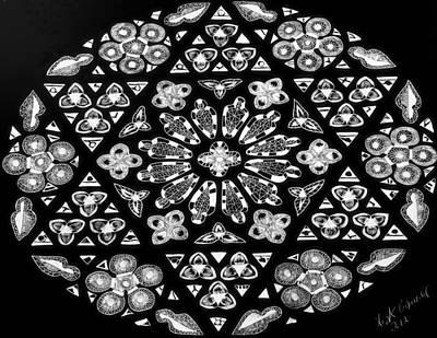 Mandala Of Hope Phase 1 Art Print