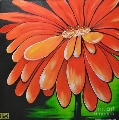 Mandarin Orange Art Print by Holly Donohoe