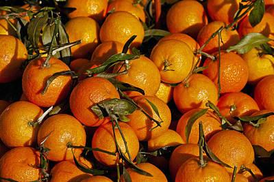 Mandarin Photograph - Mandarins by Joana Kruse