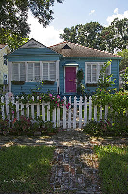 Photograph - Mandevilla Cottage by Cheri Randolph