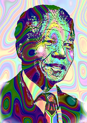 Mandiba Art Print by Harold Egbune