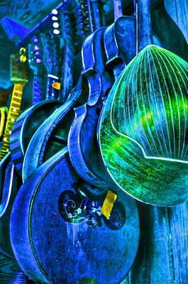 Mandolin Blues Art Print by Frank SantAgata