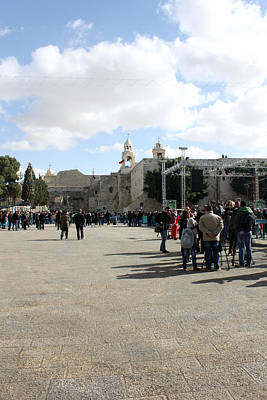 Manger Square In Bethlehem Original