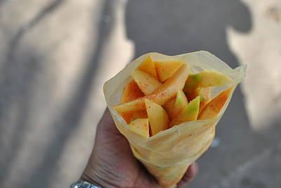 Mango Mix Art Print by Nimmi Solomon