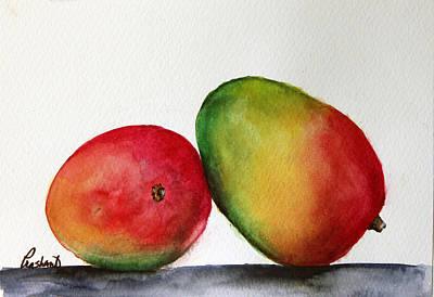Painting - Mangos by Prashant Shah