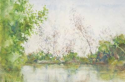 Tuke Painting - Mangrove Swamp by Henry Scott Tuke