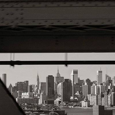 Skyscrapers Wall Art - Photograph - Manhattan - New York by Joel Lopez