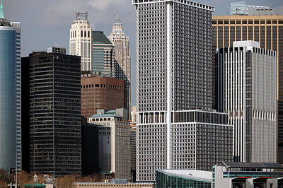 Newyork08 Photograph - Manhattan Buildings by RicardMN Photography