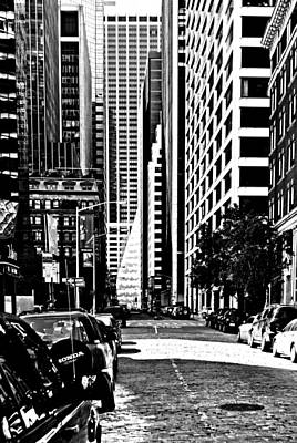 Photograph - Manhattan Finacial District by Laura DAddona