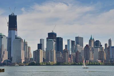 Wall Photograph - Manhattan Financial District by Steven Richman