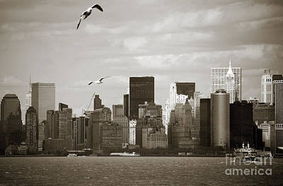 Newyork08 Photograph - Manhattan Over The River by RicardMN Photography
