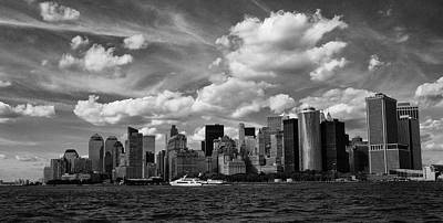 Photograph - Manhattan Skyline by Cornelis Verwaal
