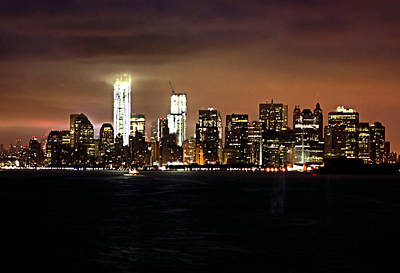 Photograph - Manhattan Skyline by Kristin Elmquist