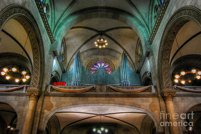 Photograph - Manila Cathedral Pipes by Yhun Suarez