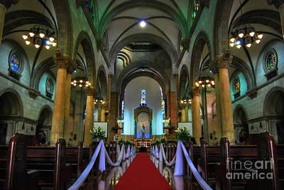 Photograph - Manila Cathedral by Yhun Suarez