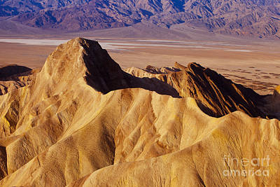 Photograph - Manley Beacon Death Valley by Brian Jannsen