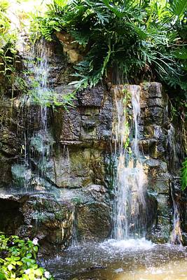 Photograph - Manmade Waterfall by Bruce Bley
