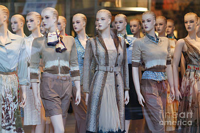 Womens Photograph - Mannequins I by Clarence Holmes