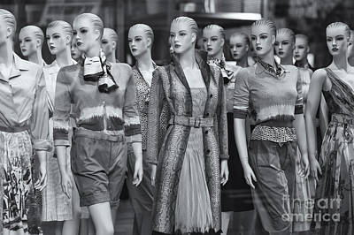 Mannikins Photograph - Mannequins II by Clarence Holmes