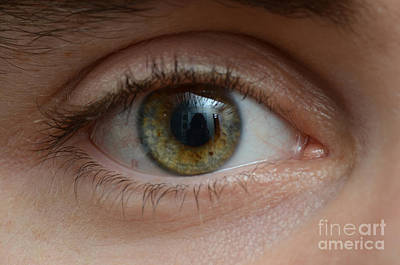 Mans Eye Art Print by Photo Researchers, Inc.