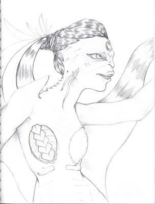 Manta Art Print by Michelle Pedro