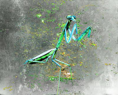 Mantis 1 Art Print by Arne Hansen