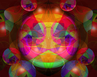 Photograph - Mantra Lights by Lynda Lehmann