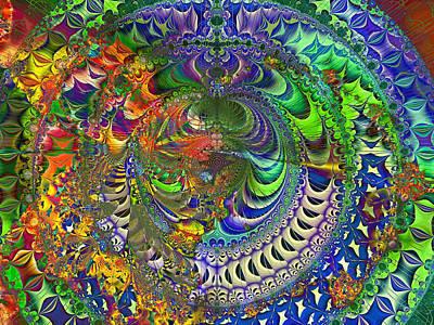 Create Digital Art - Mantrea  by Betsy Knapp