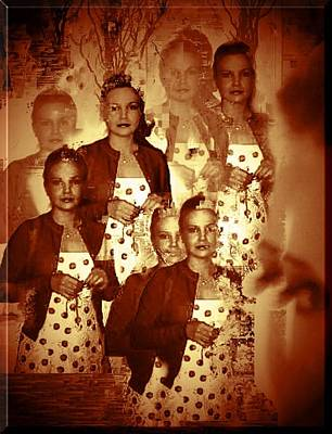 Photograph - Many Faces Of Cherry Dress by Marian Hebert