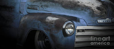 Tricked-out Cars Photograph - Many Miles by Chuck Re