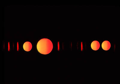 Indefinite Photograph - Many Suns by Al Hurley