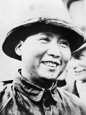 Mao Zedong, Leader Of Communist Faction Art Print