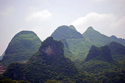 Photograph - Mao'r Mountains by Harvey Barrison