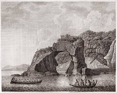 Maori Wall Art - Photograph - Maori Fortified Town, 18th Century by Middle Temple Library