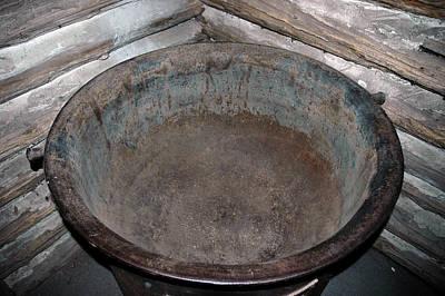 Fire Photograph - Maple Sap Boiling Pot by LeeAnn McLaneGoetz McLaneGoetzStudioLLCcom