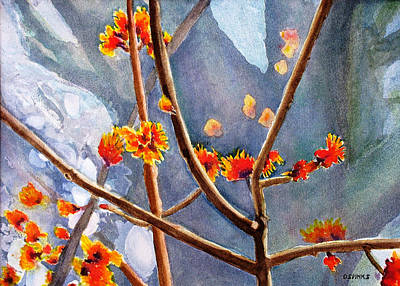 Painting - Maple Spring II by Debra Spinks