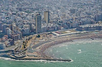 Buenos Aires Photograph - Mar Del Plata Beach by Agustín Faggiano - Fotografía