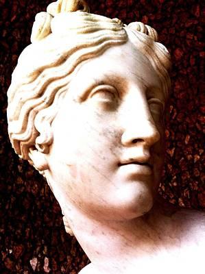 Marble Sculpture Art Print by Paul Washington