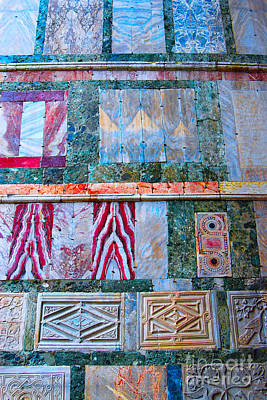 Photograph - Marble Tiles At St Mark Square Venice Italy by Eva Kaufman