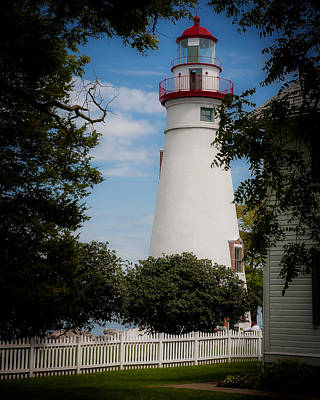 Marblehead Lighthouse Afternoon Art Print by John Traveler