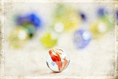 Marbles Art Print by Darren Fisher